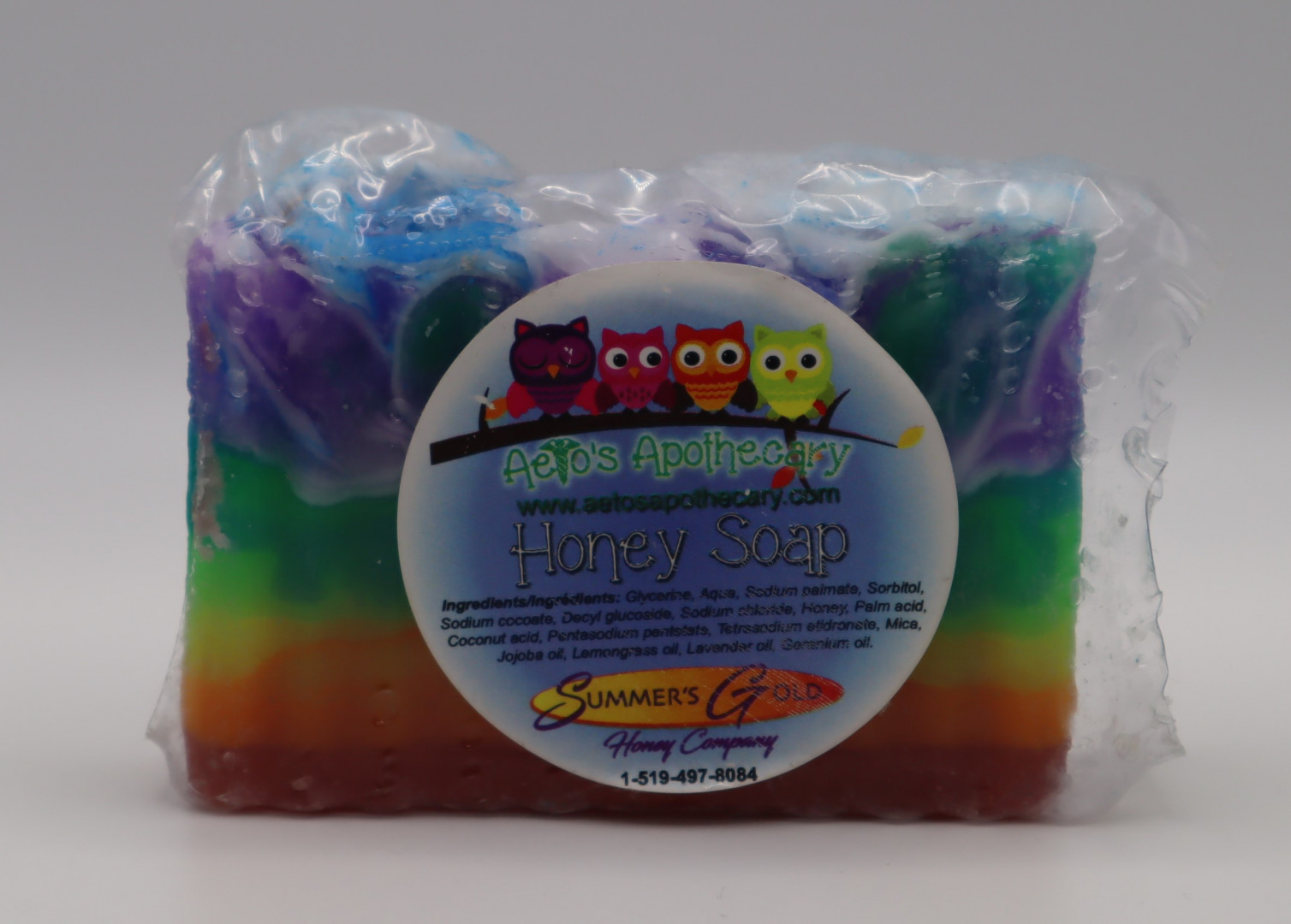 Rainbow Rectangle Soap