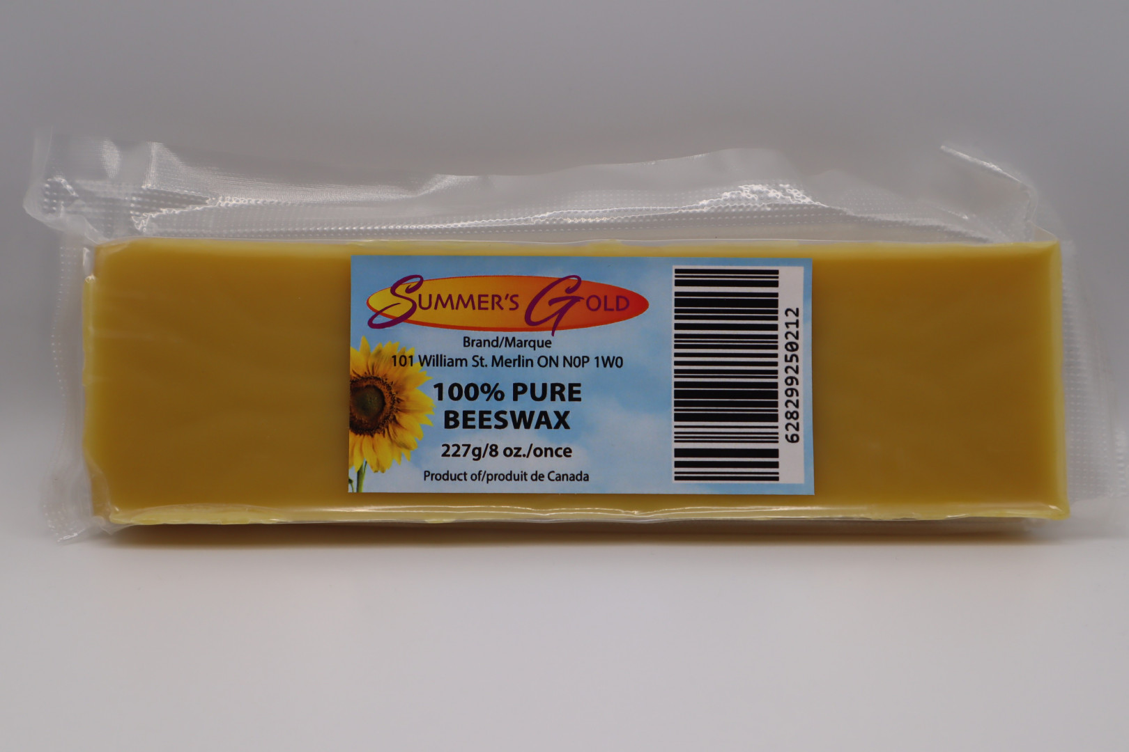 1/2-lb Pure Beeswax